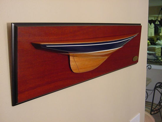 Picture of MM-07 Endeavour I 1934 Half Hull Model
