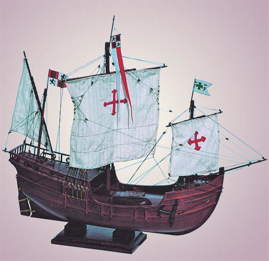 Picture of SMD-02 Pinta 1492 Model Ship