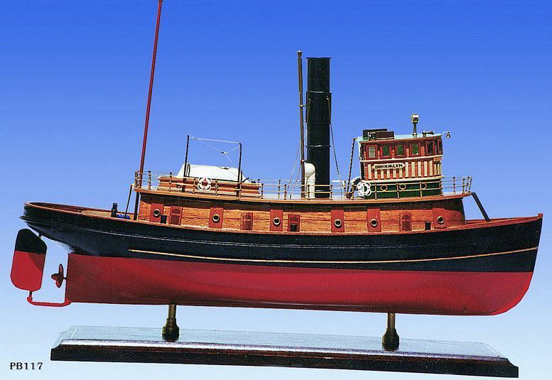 Picture of SMM-08 Brooklyn Tug Boat 1918 Model Ship