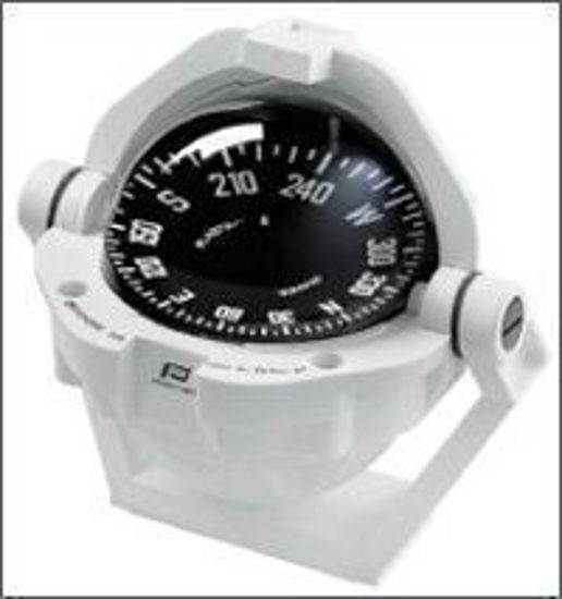 Picture of Plastimo Offshore 105 Compass - White, Flat Card