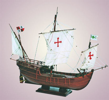 Picture of SMD-03 Nina 1492 Model Ship