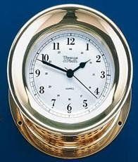 Picture of Weems and Plath Orion Quartz Ship's Bell Clock