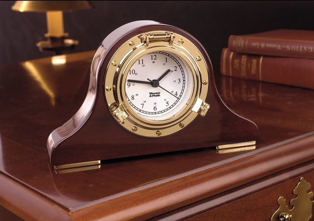Picture of Weems and Plath Nautical Tambour Clock