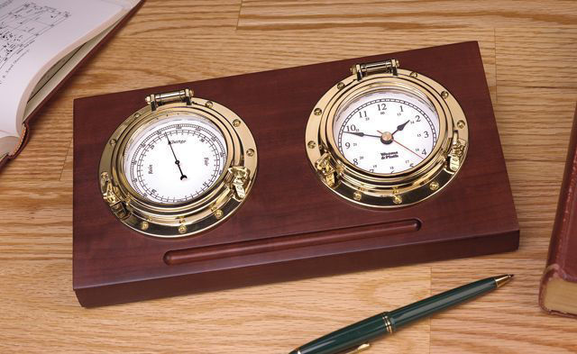 Picture of Weems and Plath Porthole Desk Set