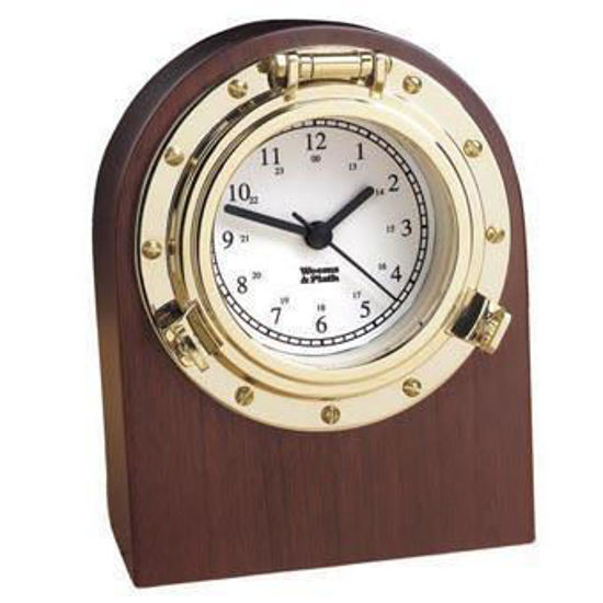 Picture of Weems and Plath Porthole Desk Clock