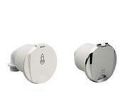 Picture of Plastimo Pressure Water Outlet - White Elbow